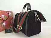Gucci女包新款(一比一):gucci磨砂皮波士頓包尺寸34x22x18批發零售0631612ntp320 (5).jpg