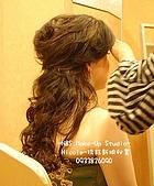 Nicole-琇鈺新娘祕書造型- 新娘Wendy 的補請婚宴:進場髮型.jpg