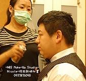 Nicole-琇鈺新娘祕書造型- 新娘Wendy 的補請婚宴:新郎1.jpg