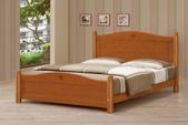 臥室房間組14:669-1 5尺圓柱柚木色雙人床.jpg