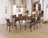餐廳系列-餐桌:912-2 賽維爾5尺餐桌+984-12.jpg