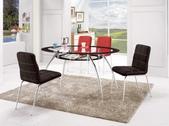 餐廳-餐桌:964-2 雅瑟橢圓玻璃桌+989-3+989-4.jpg