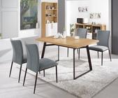 時尚餐桌:950-2 華納4.3尺餐桌+987-5.jpg