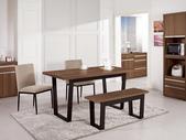 時尚餐桌:951-1 安東尼4.6尺餐桌+987-10+990-6.jpg