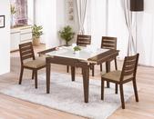 時尚餐桌:921-1 雅瑟胡桃原石折桌+984-16.jpg