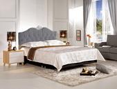 臥室房間組14:678-6 格蘭德5尺雙人床(灰色).jpg