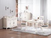 餐廳-時尚餐桌:981-1 卡蜜拉3.2尺餐桌兼麻將桌+985-5.jpg