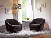 沙發組椅:742-1 夏綠蒂休閒椅(黑絨布).jpg