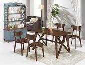 時尚餐桌:923-1 德魯4.5尺餐桌+986-9.jpg
