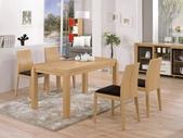 時尚餐桌:926-2 布洛克5尺餐桌+983-13.jpg