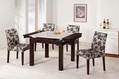餐廳系列-高雅餐桌:946-1 諾曼胡桃原石折桌+986-1.jpg