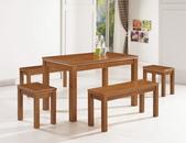 餐廳-時尚餐桌:982-2 吉爾塞4尺餐桌+990-8+990-9.jpg