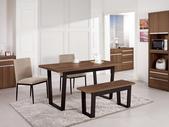 時尚餐桌:951-2 安東尼4.3尺餐桌+987-10+990-6.jpg