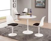 餐廳-時尚餐桌:973-1 西格莉2.6尺圓桌+973-2.jpg