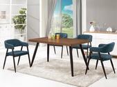 時尚餐桌:954-1 馬歇爾4.6尺餐桌+987-1.jpg