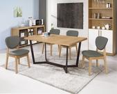 餐廳系列-高雅餐桌:947-1 吉莉安4.6尺餐桌+983-10.jpg