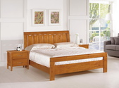 臥室房間組14:667-1 布萊恩6尺實木柚木色雙人床.jpg