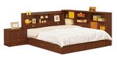 臥室房間組14:672-1 羅爾5尺胡桃書架型雙人床.jpg