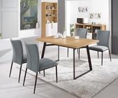 時尚餐桌:950-1 華納4.6尺餐桌+987-5.jpg