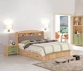 臥室房間組-10:617-1 奈德5尺書架型雙人床.jpg