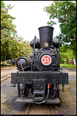 阿里山森林鐵路 - 嘉義車庫 2013.10.10:◎ SL-25 蒸汽機車頭
