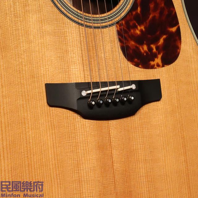 《民風樂府》日本廠 Takamine EF360S-TT 烘烤熟化面板 全單板電木吉他