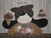與Shinnie 的相約-2011:可愛娃娃與甜蜜糕點拼布被-2