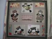 與Shinnie 的相約-2011:可愛娃娃與甜蜜糕點拼布被
