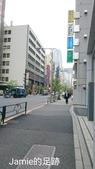 一個人的日本行:新宿飯店旁的街道