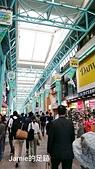 一個人的日本行:不是假日也人潮不少的商店街裡