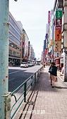 一個人的日本行:0101百貨前的街道