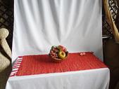 自然風桌巾、杯墊系列:自然香草桌墊