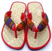 自然健康草編拖鞋系列:原住民風健康草鞋 – 大人-1269