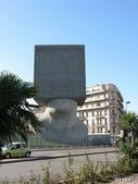 42大奇特建築:11. La Tete au Carre Library -  Nice, France     拉特特區家樂庫 - 法國,尼斯.jpg