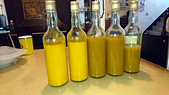 醃漬保存:薑黃磨泥