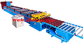 滾輪機械廠-冷軋滾輪成型機:立體屋瓦滾輪成型機