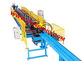 滾輪機械廠-冷軋滾輪成型機:C型鋼滾輪成型機