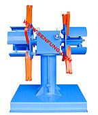 滾輪機械廠-冷軋滾輪成型機:雙頭放料架
