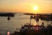 淡水漁人碼頭-火紅般的落日:DSC05889.JPG