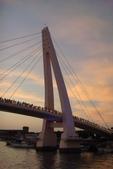 淡水漁人碼頭-火紅般的落日:DSC05938.JPG