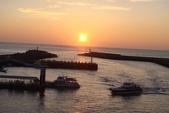 淡水漁人碼頭-火紅般的落日:DSC05908.JPG
