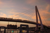 淡水漁人碼頭-火紅般的落日:DSC05943.JPG