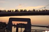 淡水漁人碼頭-火紅般的落日:DSC05922.JPG