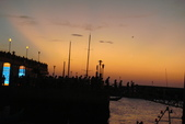 淡水漁人碼頭-火紅般的落日:DSC05980.JPG