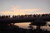 淡水漁人碼頭-火紅般的落日:DSC05947.JPG