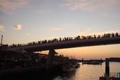 淡水漁人碼頭-火紅般的落日:DSC05928.JPG
