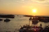 淡水漁人碼頭-火紅般的落日:DSC05890.JPG