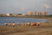 沙崙海灘-喜見五彩霞光:DSC05672.JPG
