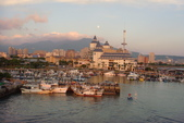 淡水漁人碼頭-火紅般的落日:DSC05903.JPG