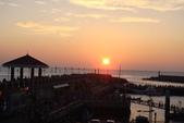 淡水漁人碼頭-火紅般的落日:DSC05915.JPG